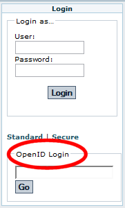 Login module with OpenID