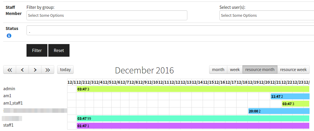 PluginTrackerCalendar | Documentation for Tiki Wiki CMS Groupware