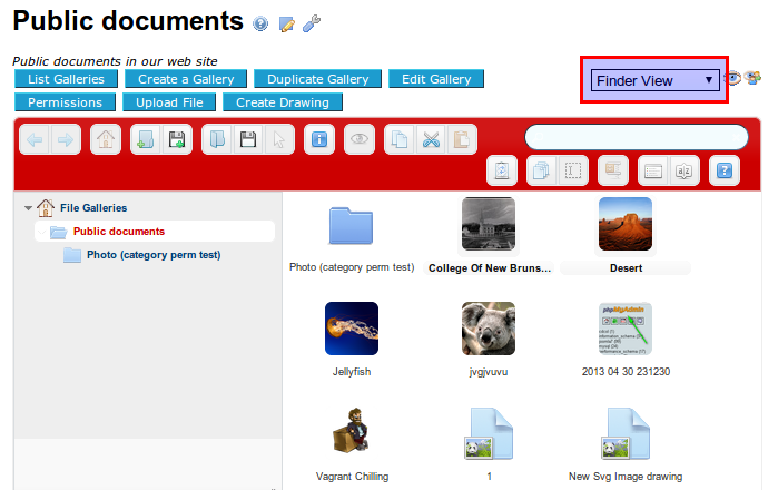 elFinder | Documentation for Tiki Wiki CMS Groupware