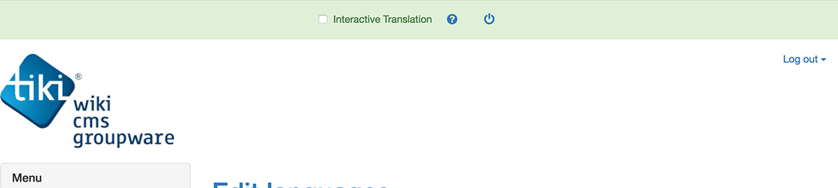 Translation Greenbar