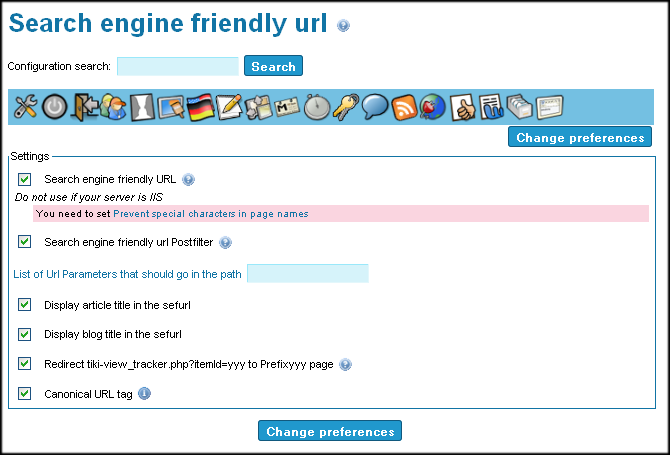 Search Engine Friendly URL